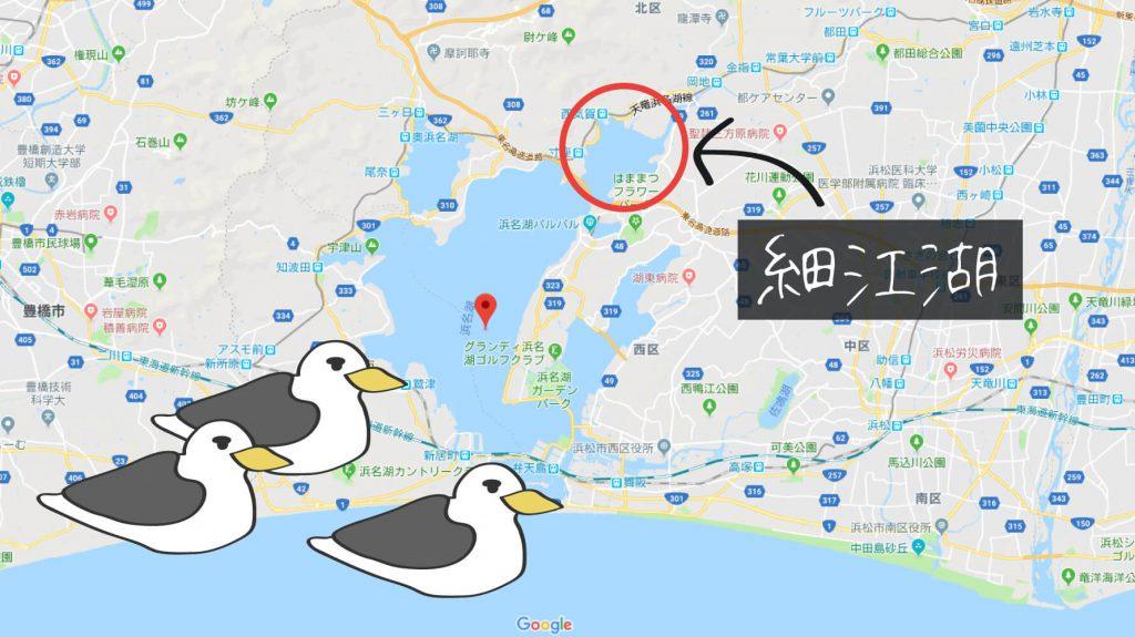 細江湖の画像
