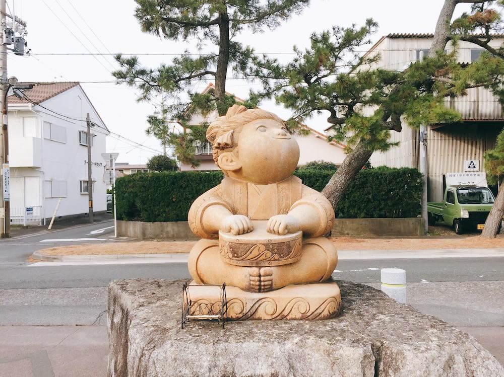 舞阪の浪小僧(波小僧)の画像