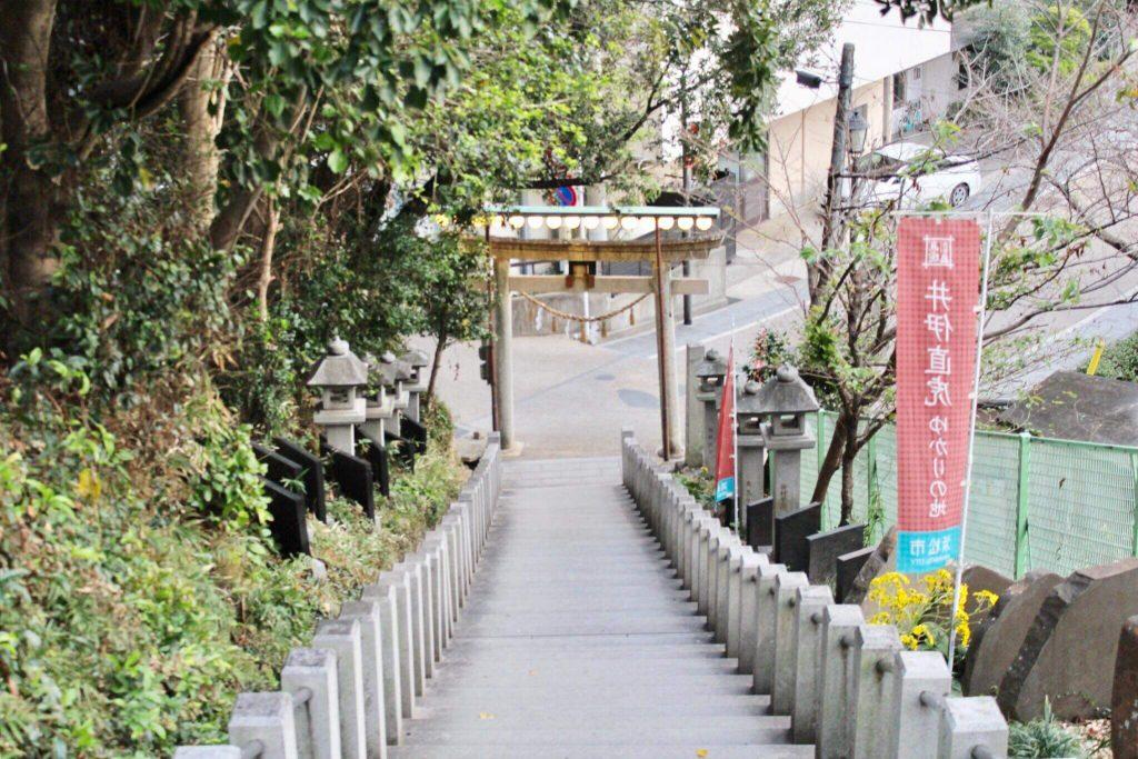 舘山寺出口の画像