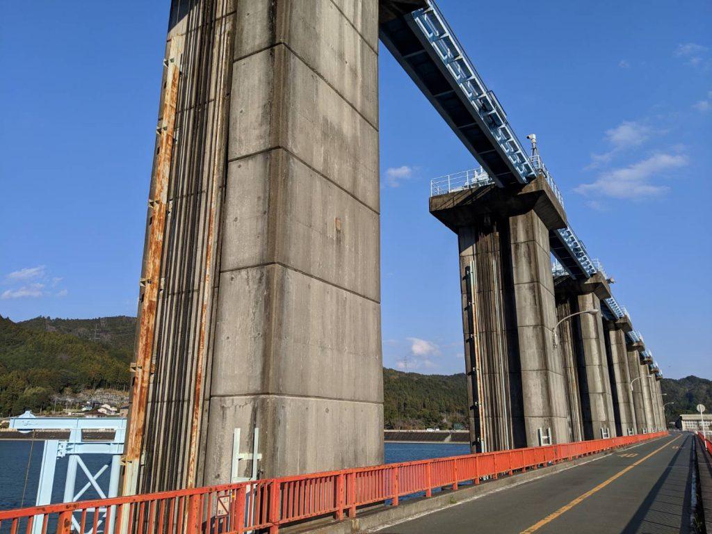 船明ダムの画像