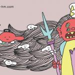 【浜松いち押し節分行事】浜松八幡宮の追儺式で会える鬼の神様「方相氏」