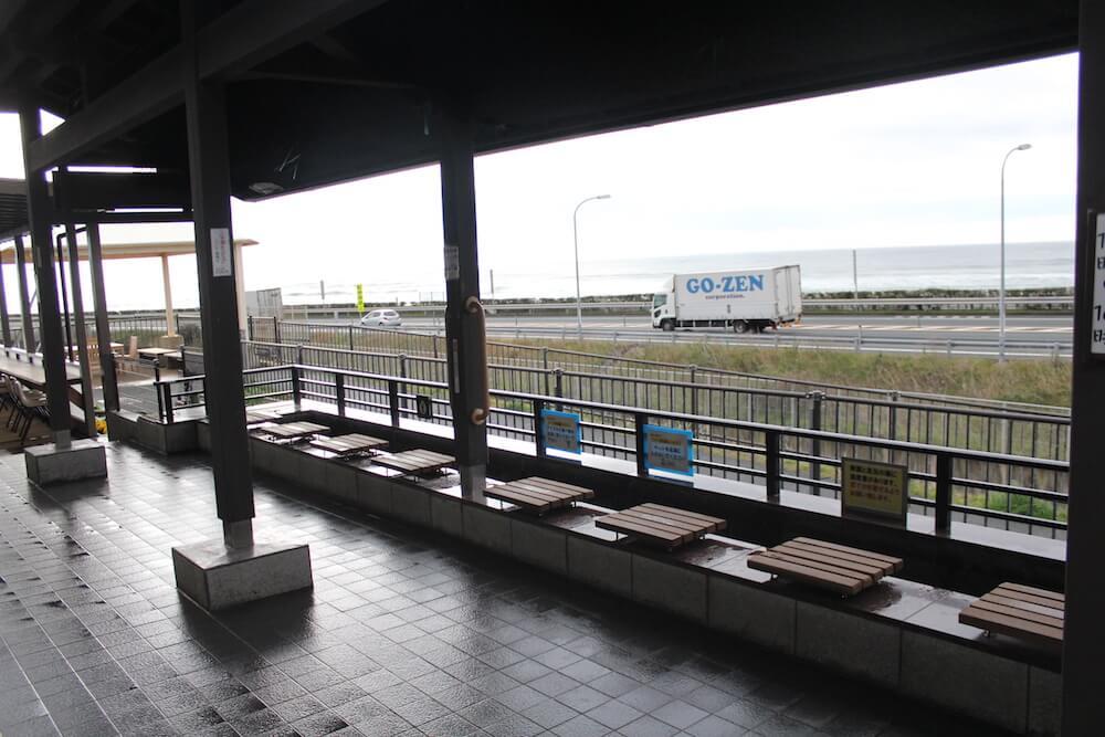 道の駅潮見坂足湯の画像