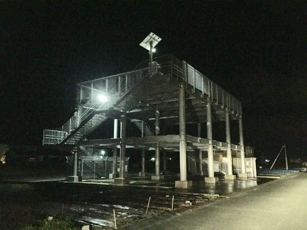 浜松市西区馬郡町の津波避難ビルの画像