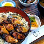 【浜松のご当地グルメ】レイクビューで食べる、舘山寺園「牡蠣カバ丼」