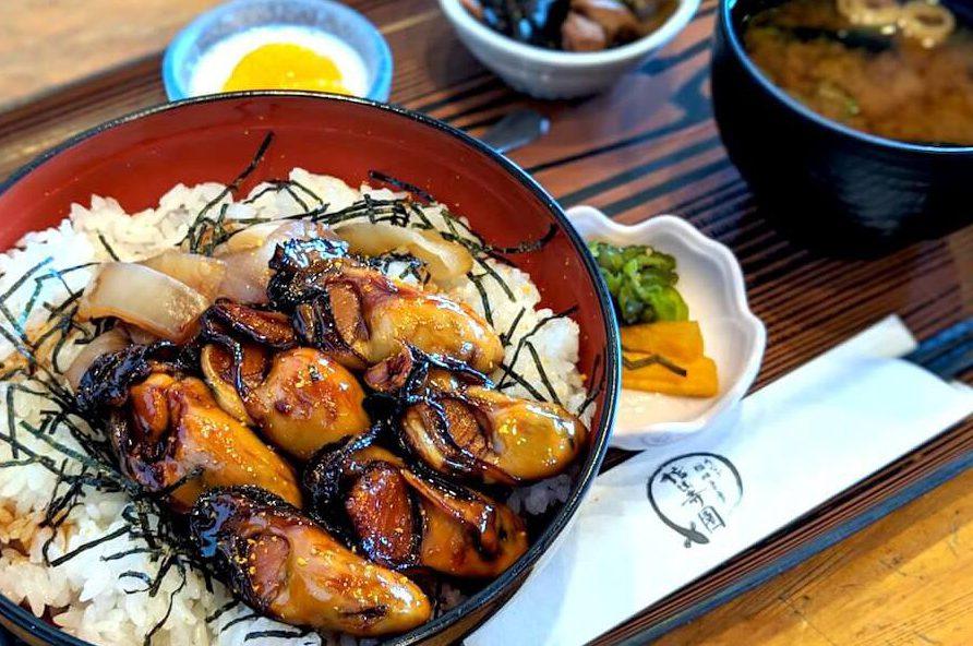 牡蠣カバ丼の画像
