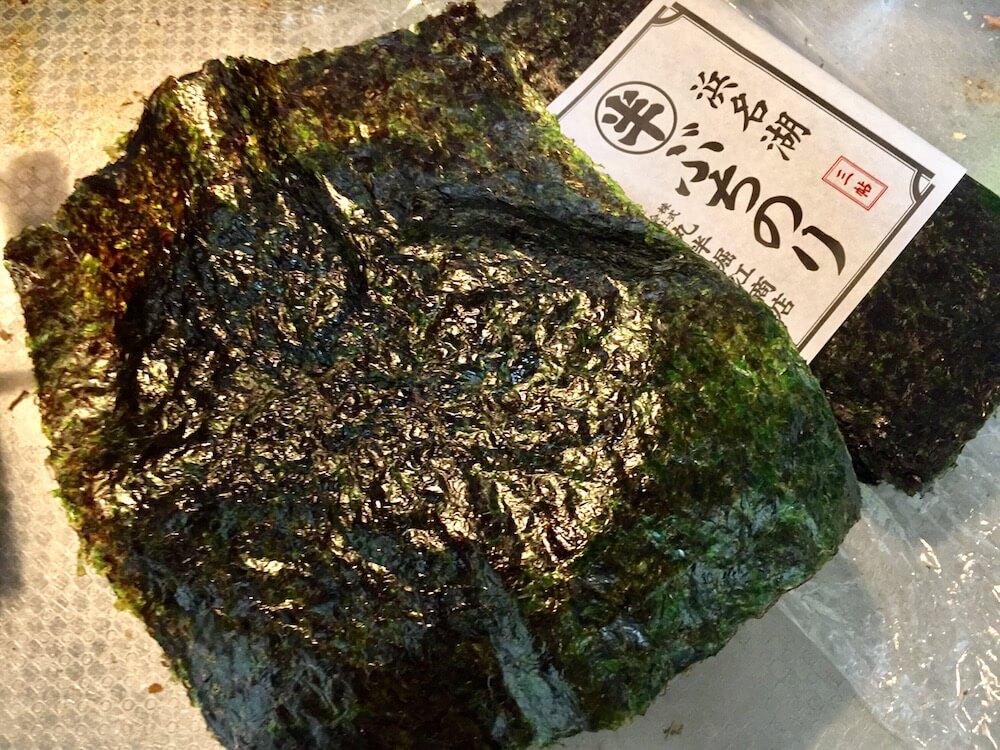 浜名湖産ぶち海苔の画像