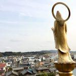 【浜松100景】東林寺の「浜名湖と気賀宿を見守る浜名湖観音」