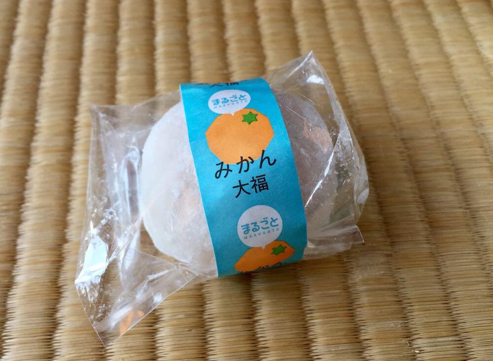 三ヶ日製菓のみかん大福の画像