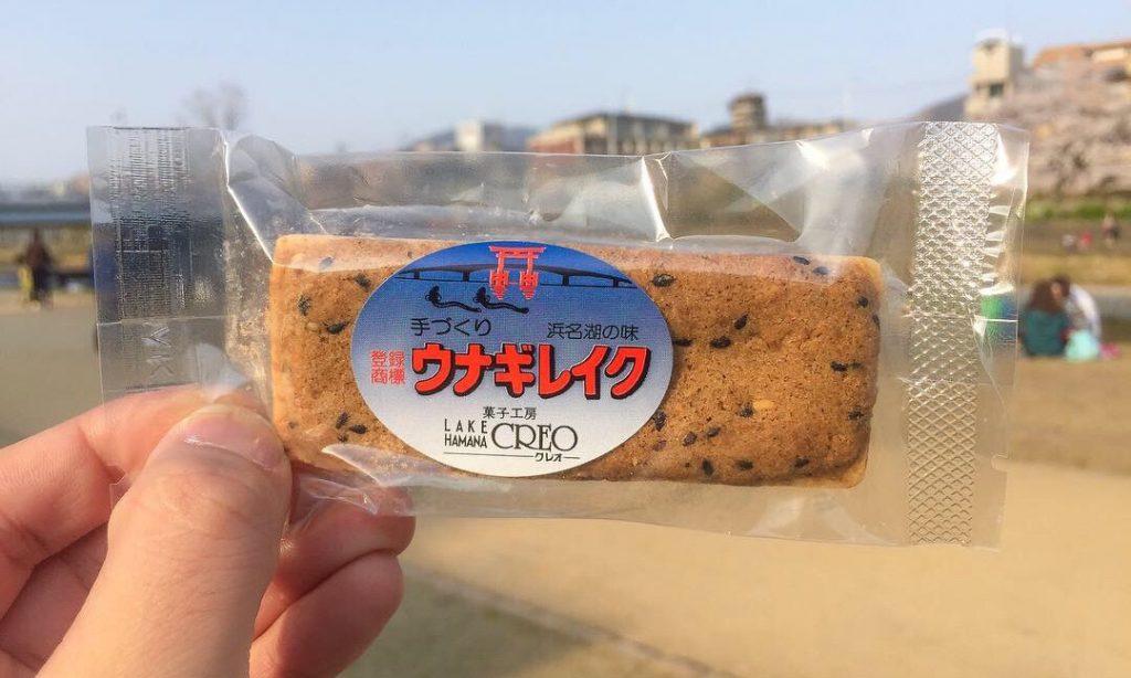 菓子工房クレオ新坂屋のウナギレイクの画像