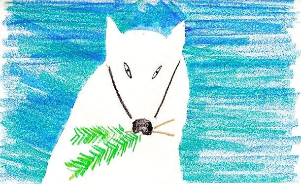 浜松の白狐の画像