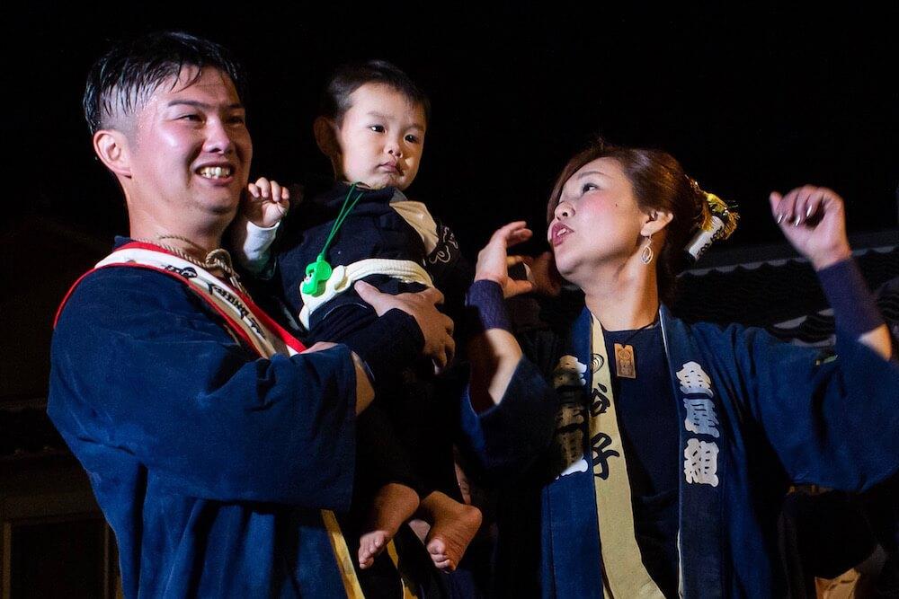 浜松まつり初子の祝いの画像