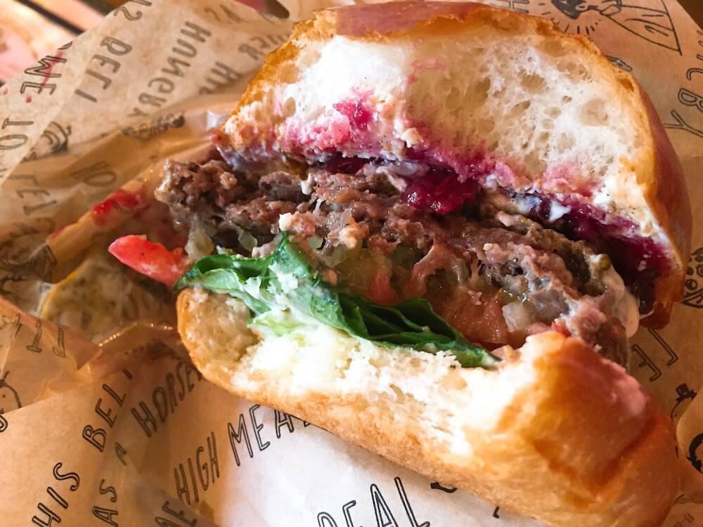 ハイミールのハンバーガーの画像