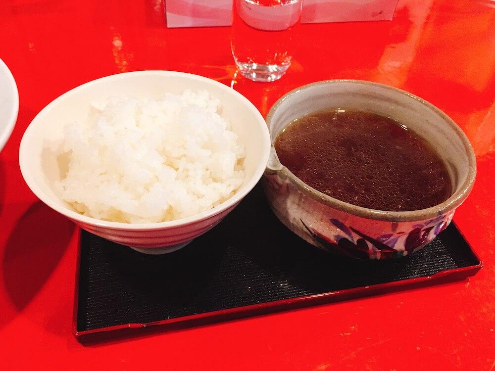 ラボラトリーの雑炊セットの画像